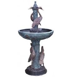 Fontaine de jardin en bronze BRZ0710