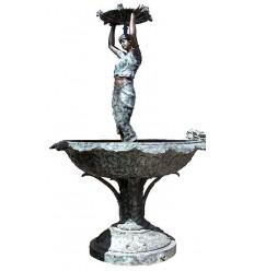 Fontaine de jardin en bronze BRZ0743