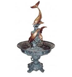 Fontaine de jardin en bronze BRZ1387V