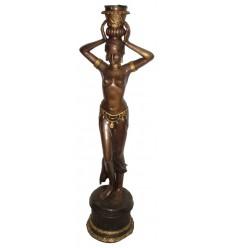 Lampadaire de jardin en bronze BRZ01347V-58