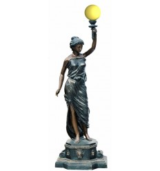 Lampadaire de jardin en bronze BRZ0319