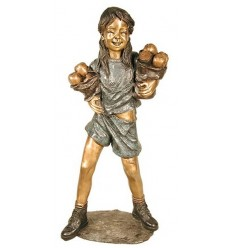 Sculpture bronze enfant BRZ1309