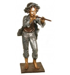Sculpture bronze enfant BRZ1314