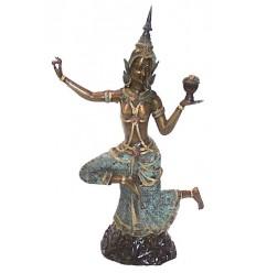 Danseuses Thaï BRZ0654-23 ( H .59 x L : Cm ) Poids : 6 Kg