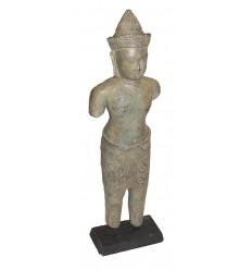 Sculpture de bouddha antique en bronze BRZ0609 ( H .45 Cm ) Poids : 3 Kg
