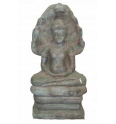 Sculpture de bouddha antique en bronze BRZ0804 ( H .89 Cm )