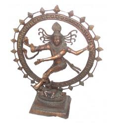 Sculpture de bouddha antique en bronze BRZ0811 ( H .84 Cm )