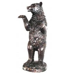 Ours en bronze BRZ0148 ( H .115 x L :80 Cm ) Poids : 31 Kg