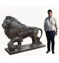 lion en marbre NA52
