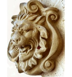 lion en marbre NA60
