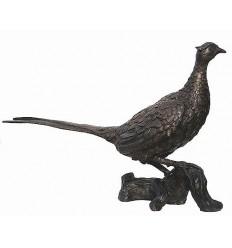 faisan en bronze BRZ0987 ( H .45 x L .74 Cm ) Poids : 9 Kg