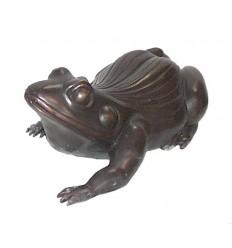 grenouille en bronze BRZ0630 ( H .53 x L . Cm )