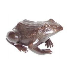 grenouille en bronze BRZ0632 ( H .18 x L . Cm ) Poids : 6 Kg