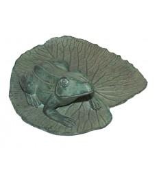 grenouille en bronze BRZ0634V ( H .22 x L . Cm )