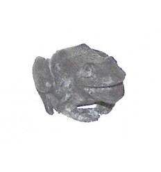 grenouille en bronze BRZ0938V ( H .7 x L .15 Cm ) Poids : 1 Kg