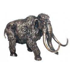 mamouth en bronze BRZ0906 ( H .13 x L .20 Cm ) Poids : 4 Kg