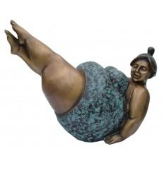 Femme ronde BRZ1108-5 (H. 13 x L. 15 Cm) - Poids : 1 Kg