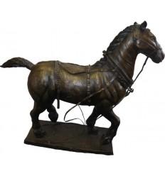 cheval en bronze BRZ1697 ( H .45 x L .53 Cm )