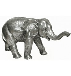 Eléphant en Aluminium ALU0787 ( H .51 X L . 89 CM )