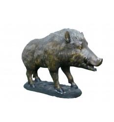 Sculpture sanglier en bronze Réf : BRZ0396S
