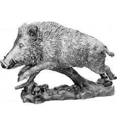 Sculpture sanglier en aluminium Réf : ALU1323