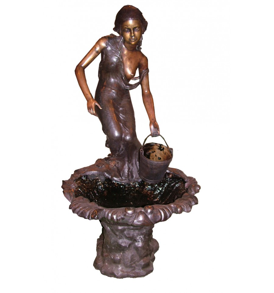 Fontaine Vasque En Bronze Brz0469v