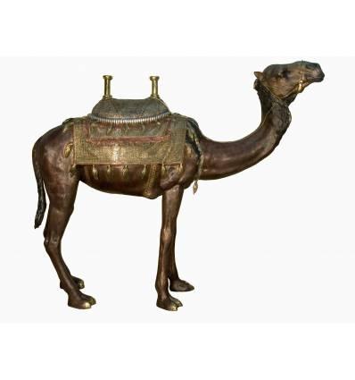 Chameau en bronze BRZ1611 ( H .280 x L :221 Cm )