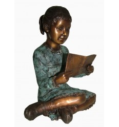 Sculpture bronze enfant BRZ1588