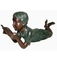 Sculpture bronze enfant BRZ1585