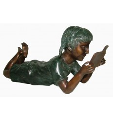 Sculpture bronze enfant BRZ1586