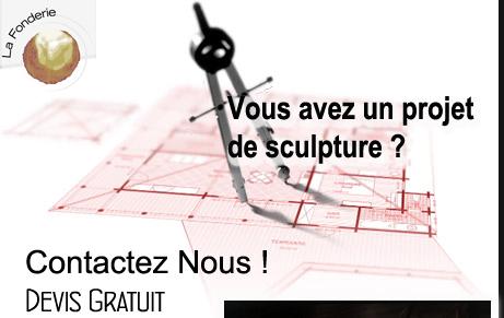 projet de sculpture sur mesure