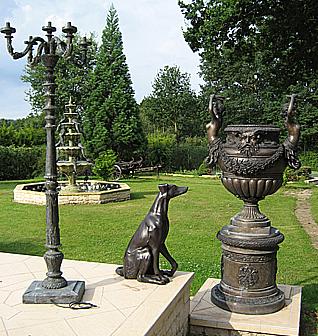 vente et fabrication de sculpture de jardin fontaine en bronze et portail sur mesure prestige. Black Bedroom Furniture Sets. Home Design Ideas