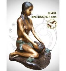 Fontaine bassin bronze af404-100