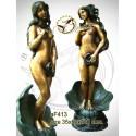 Fontaine bassin bronze af413-100