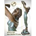 Fontaine bassin bronze af414-100