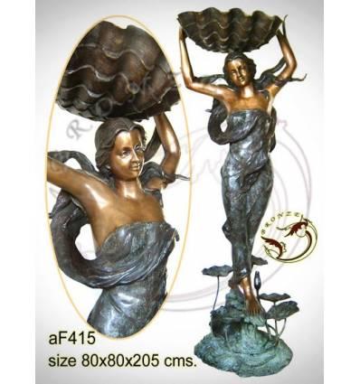 Fontaine bassin bronze af415-100