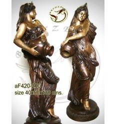 Fontaine bassin bronze af420-200