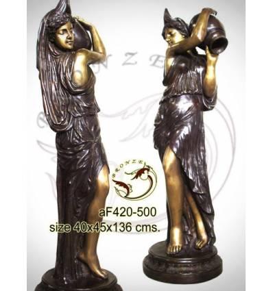 Fontaine bassin bronze af420-500