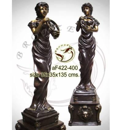 Fontaine bassin bronze af422-400