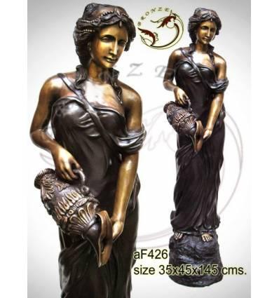 Fontaine bassin bronze af426-100
