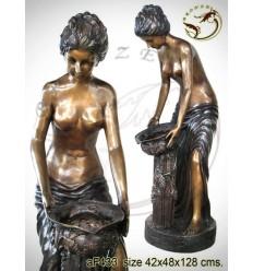 Fontaine bassin bronze af433-100