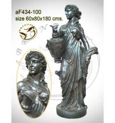 Fontaine bassin bronze af434-100