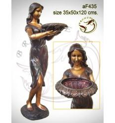 Fontaine bassin bronze af435-100