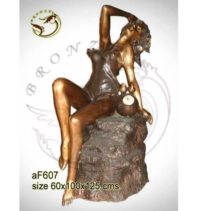 Fontaine bassin bronze af607-100