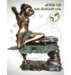Fontaine bassin bronze af608-120