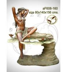 Fontaine bassin bronze af608-160