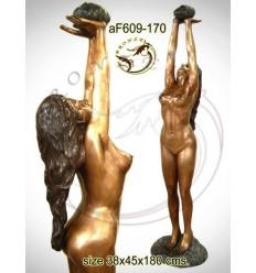 Fontaine bassin bronze af609-170