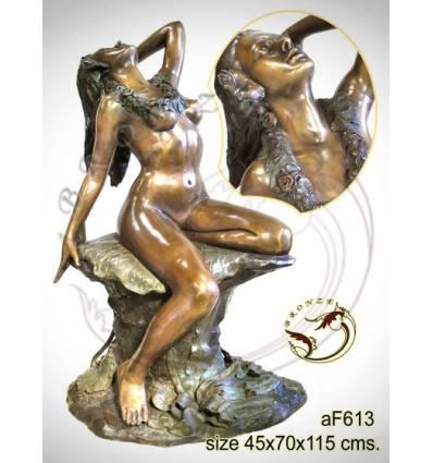 Fontaine bassin bronze af613-100