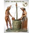 Fontaine bassin bronze af702-100