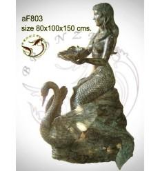 Fontaine bassin bronze af803-100